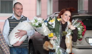 Максим с мужем Алексеем