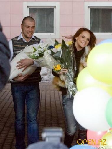 Максим с дочкой Сашенькой